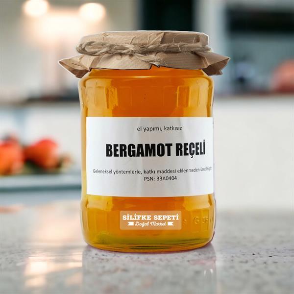 Ev Yapımı Bergamot Reçeli