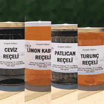 Akdeniz Reçel Paketi Zeytin,Portakal Kabuğu,Bergamot,Kuru İncir Reçeli