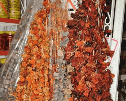 Biber Patlıcan Kuruları